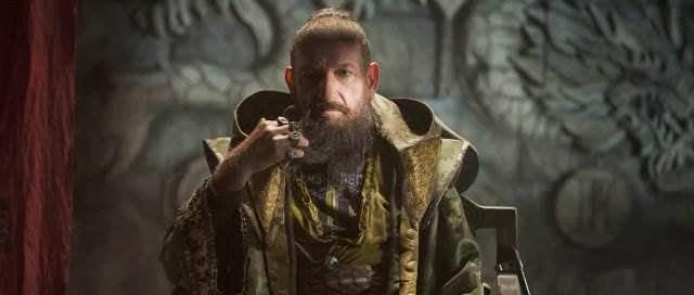 Ben Kingsley as The Mandarin/Trevor from Iron Man 3