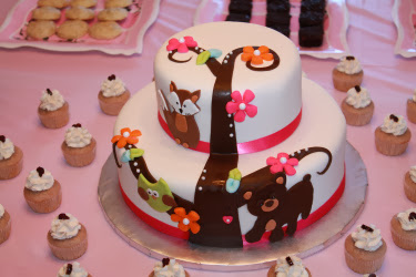 Woodland Baby Shower. Shop For Animal Theme Decorations U0026 Supplies ...