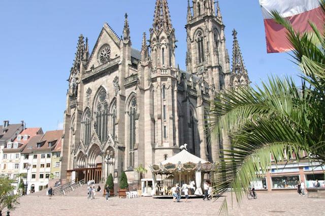Mulhouse mot diem du lich ly tuong thuoc vung Alsace