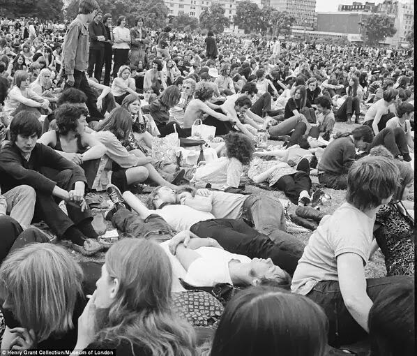 Pink Floyd, Londres 1968