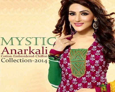 MYSTIC Anarkali Dresses for Girls
