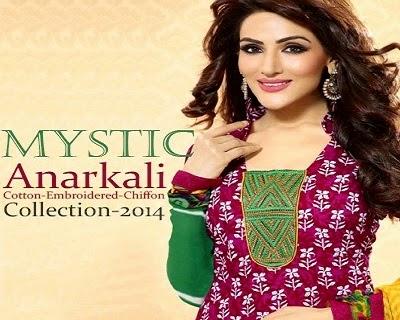 MYSTIC Anarkali Dresses for Girls