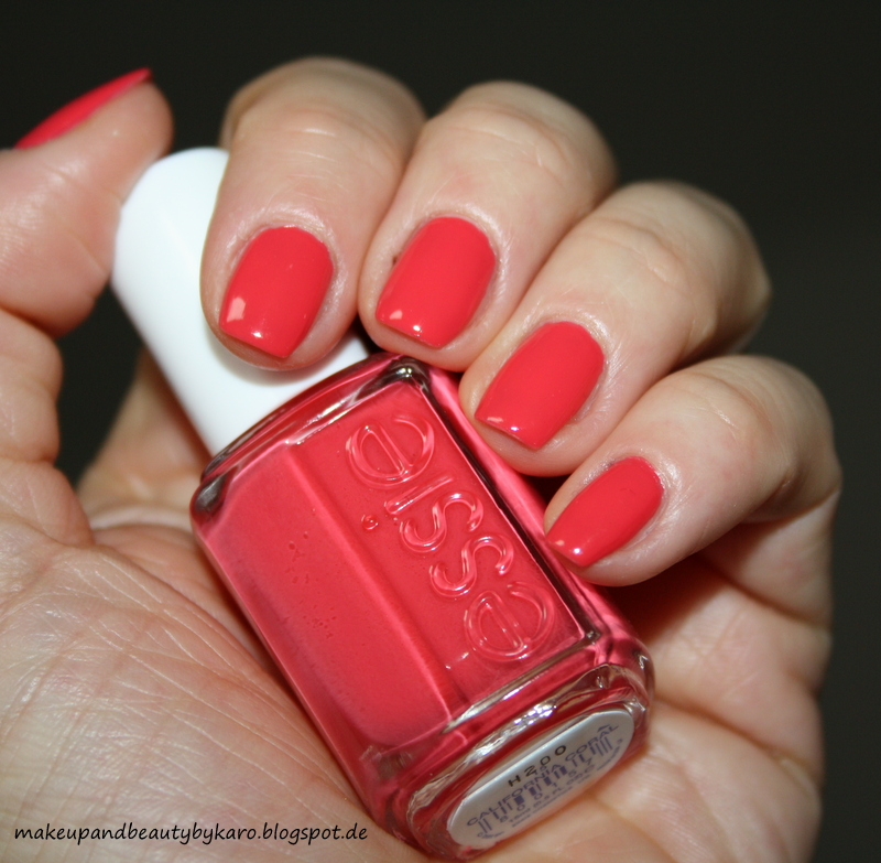 makeup beauty by karo essie california coral. Black Bedroom Furniture Sets. Home Design Ideas