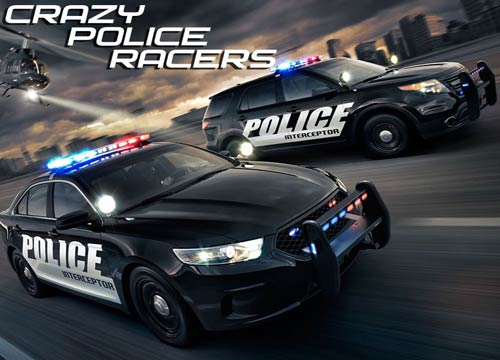 تحميل لعبة سيارات الشرطة المجنونة Crazy Police Racers