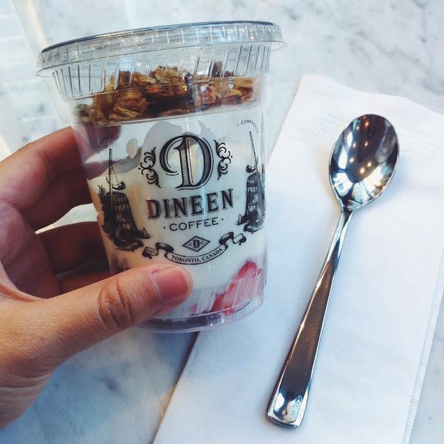 Kitty N. Wong / Yogurt at Dineen Coffee