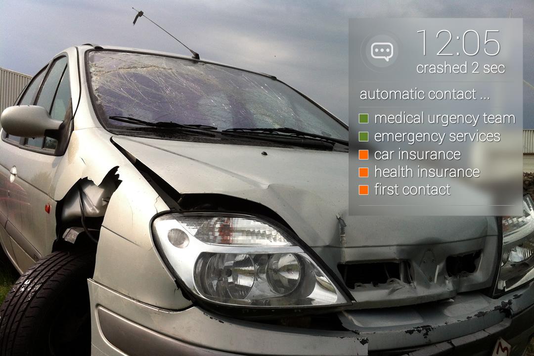 Contact hulpdiensten bij ongeval met Google Glass