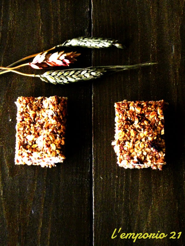 le barrette ai cereali di marco bianchi