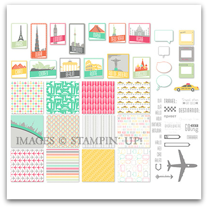 Stampin' Up! Get Going Digital Kit