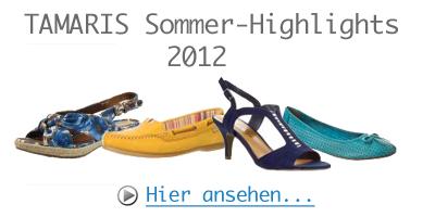 Tamaris Sommerkollektion 2012