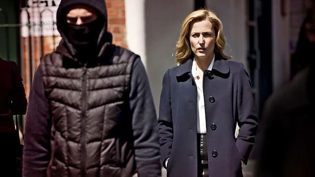 La actriz Gillian Anderson protagoniza esta serie policíaca con aires nórdicos
