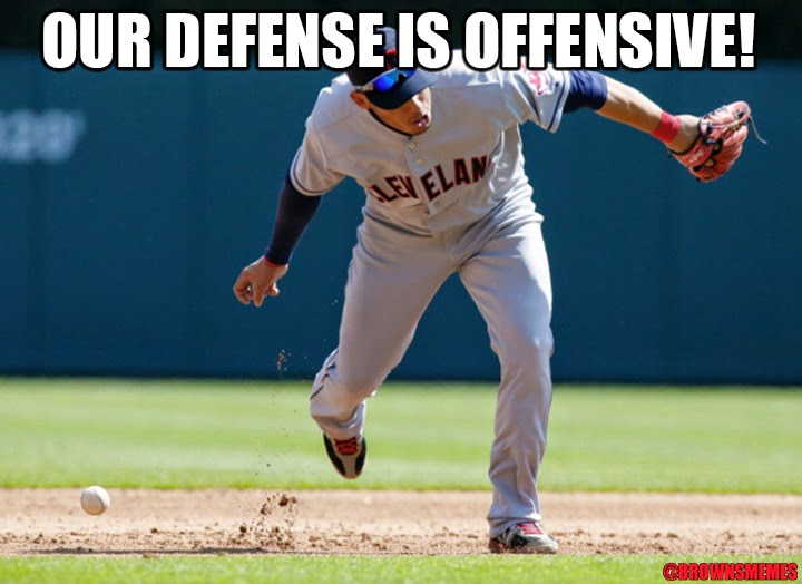 Fielding doesn't seem to matter to the Indians right now.