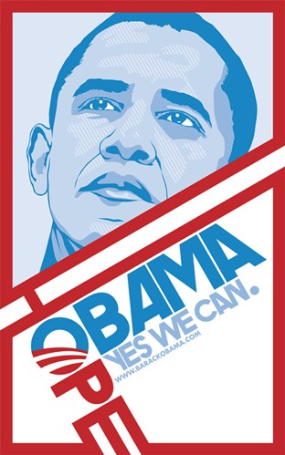 obama hope poster essay Shepard fairey is the artist who designed the now ubiquitous obama hope poster, the semi-official angeles artist mark vallen who has posted an essay.