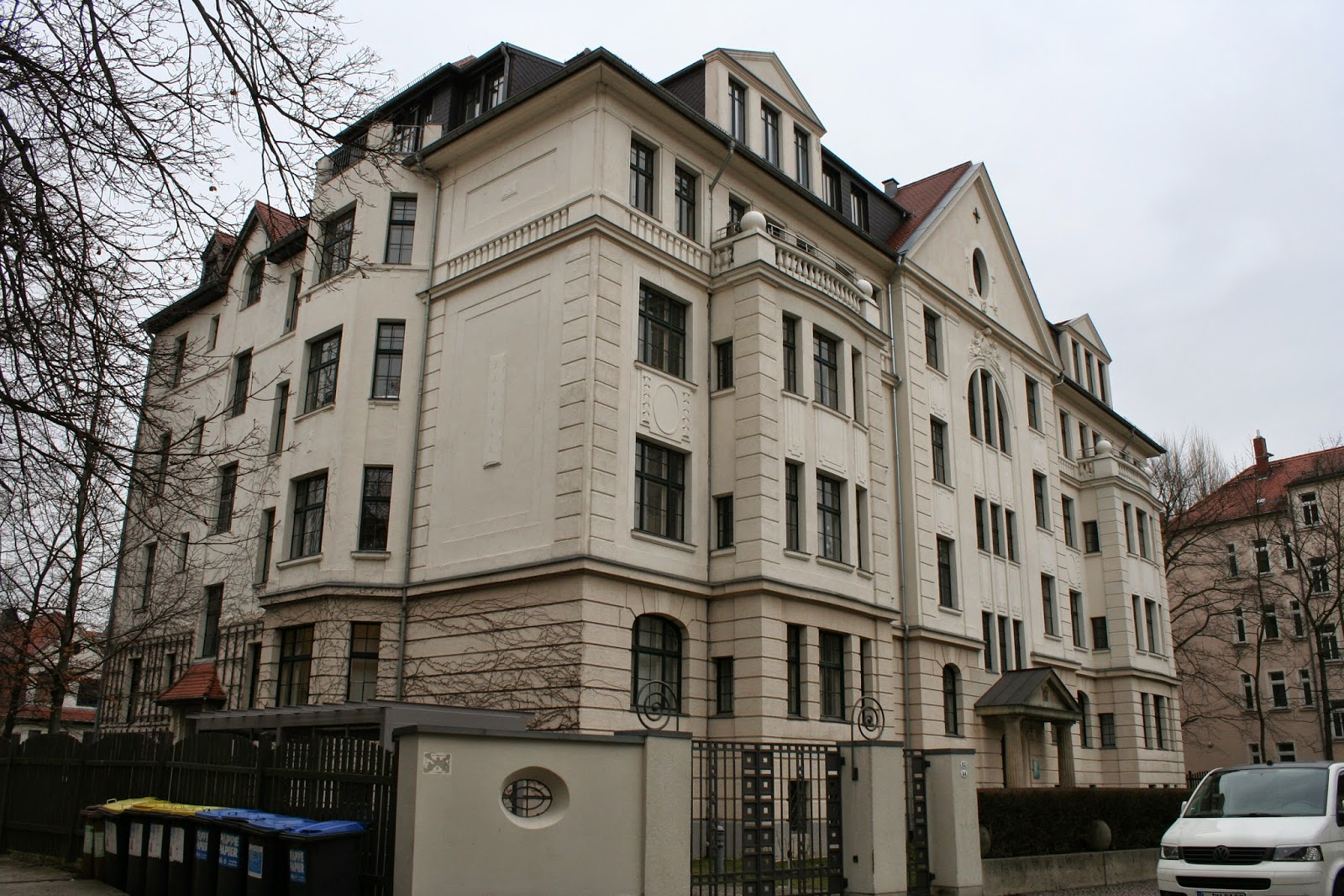 Das haus in der stallbaumstraße 12 14 wurde 1910 erbaut