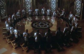 Los caballeros de la Tabla Redonda
