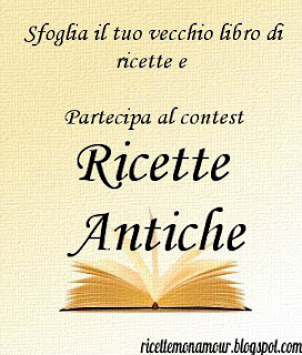 Contest Ricette antiche