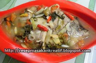 Resep Sup Ikan Gurame Aroma Kemangi