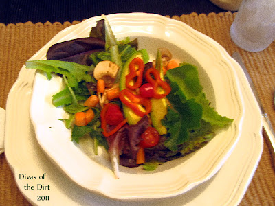 Divasofthedirt,beautiful salad