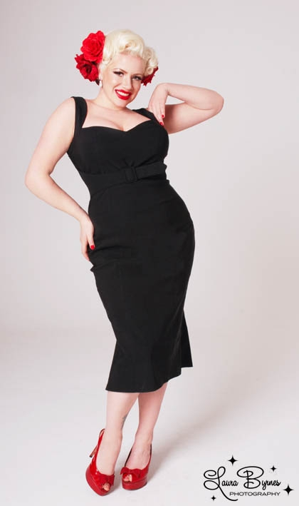 Pin up girl fashion plus size 63