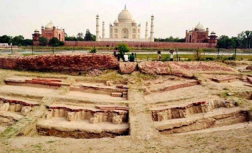 Shah Jahan's summer palace found near Taj Mahal