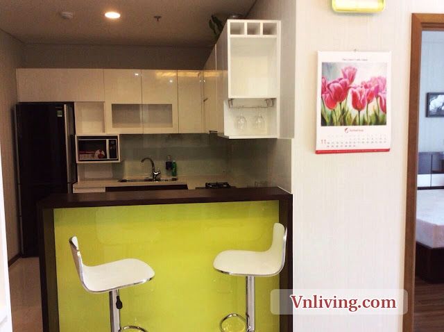 Mini bar and kitchen place in Thao Dien Pearl