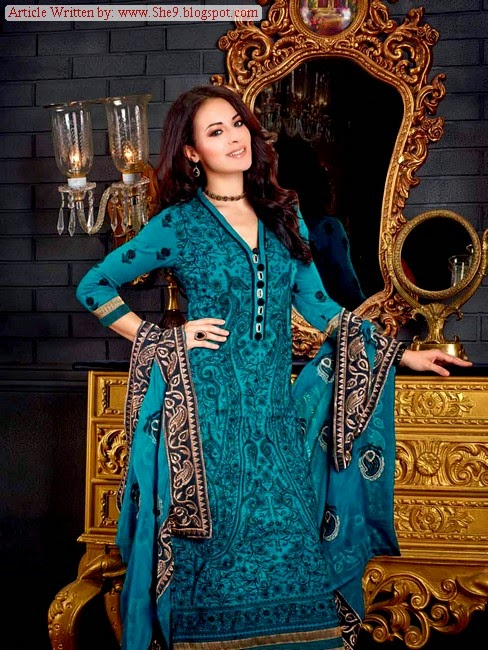 Gul Ahmed Winter / Fall Dress Collection 2014-2015