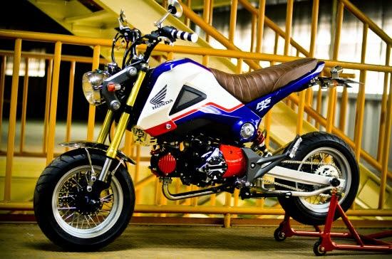 Honda MSX 125 Super Tracker