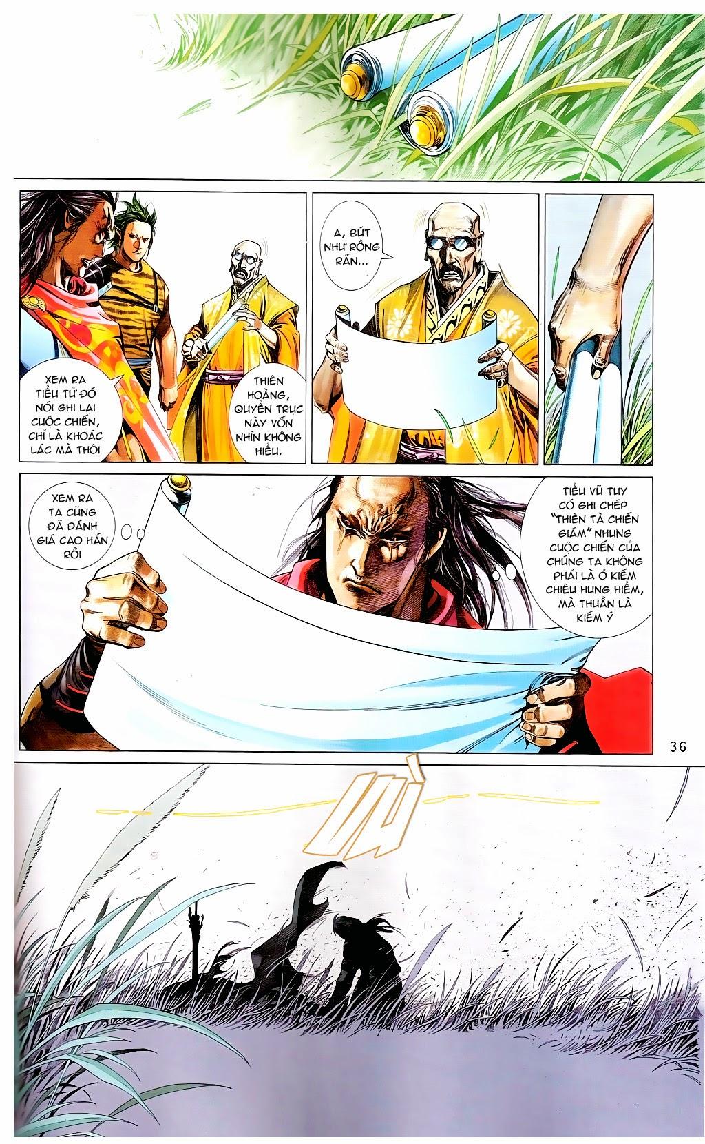 Phong Vân Chap 665 - Trang 35