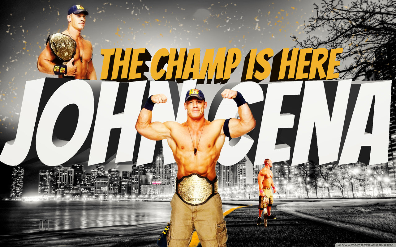 John Cena The Champ is Here Wallpaper HD
