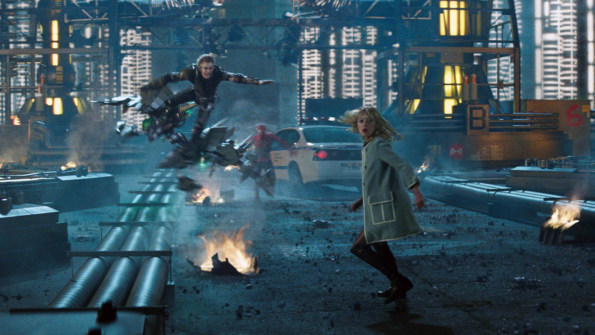 Green Goblin Gwen Stacy 2014 1e Wallpape Source Audienceseverywhere Report The Amazing Spider Man 2 Wallpaper