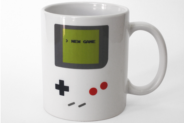 Game Boy Inspired Coffee Mug