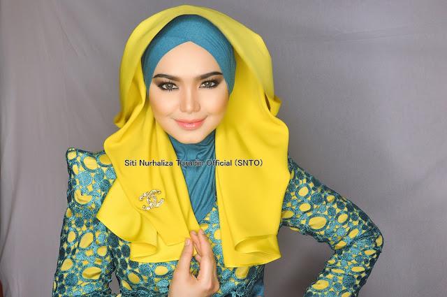 Gambar Comel Fesyen Siti Bertudung