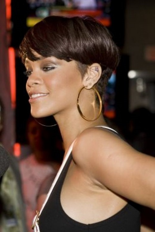 Short Crop Hairstyles for African American Women