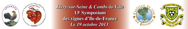 13éme Symposium des vignes d'Ile-de-France