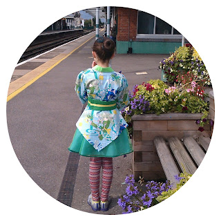 Waiting for the train to Brighton Japan Festival