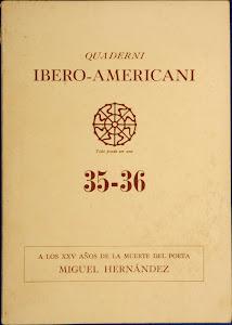 Quaderni Ibero-Americani: Attualita Culturale della Penisola Iberica e America Latina