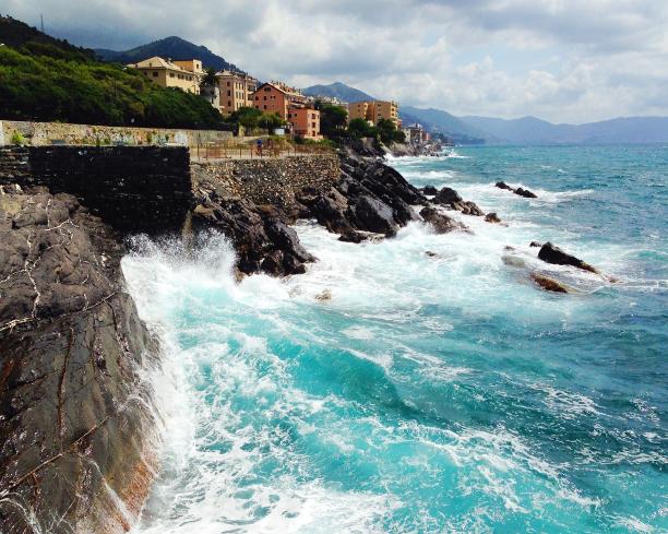 photo, snapshot, Genova, Italia, Italy, Liguria, mare
