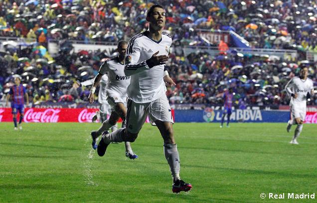 Cuplikan Video Gol Highlights Levante vs Real Madrid 1-2 tadi malam
