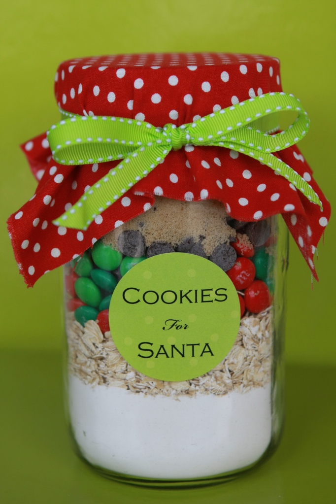 Maddycakes muse christmas gifts in a jar for Christmas cookies to make for gifts