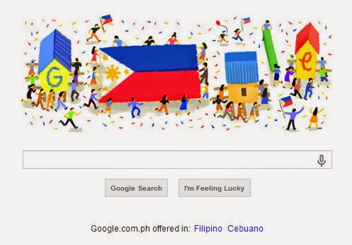 Google Doodle, Philippine Independence Day