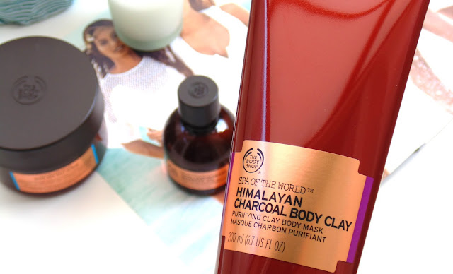 The Body Shop Spa Of The World Range