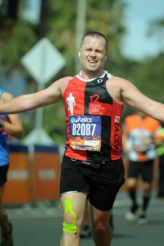 Race to 2015 LA Marathon Finish Line