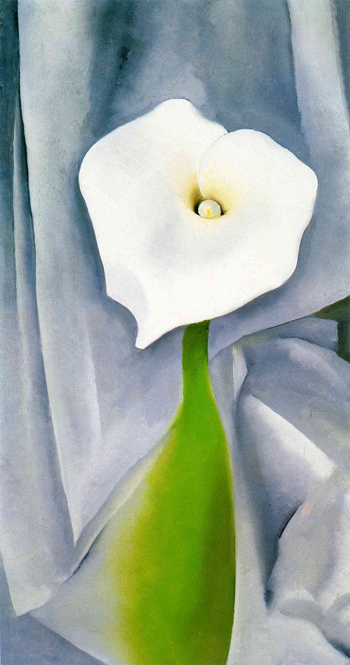 the life and early works of georgia okeeffe A short summary of 's georgia o'keeffe  early experiences as an art student in an art world that favored men made o  georgia spent the rest of the 1940s.
