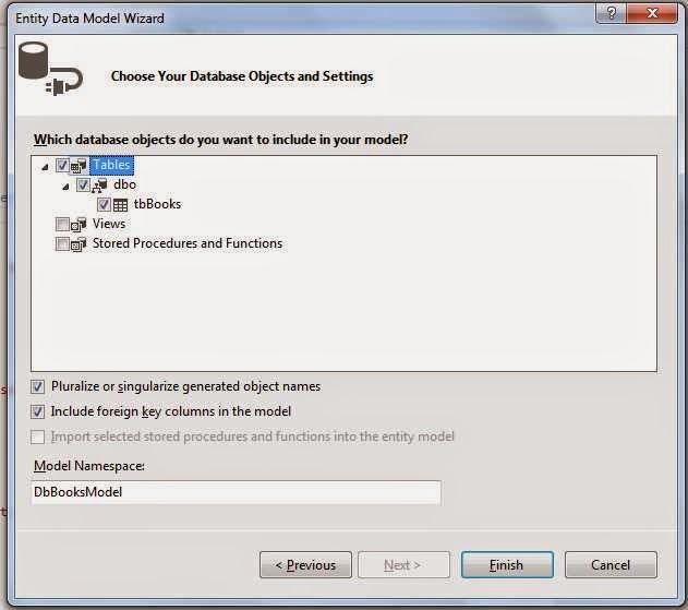 Create, Read, Update, Delete operation using MVC and Entity Framework