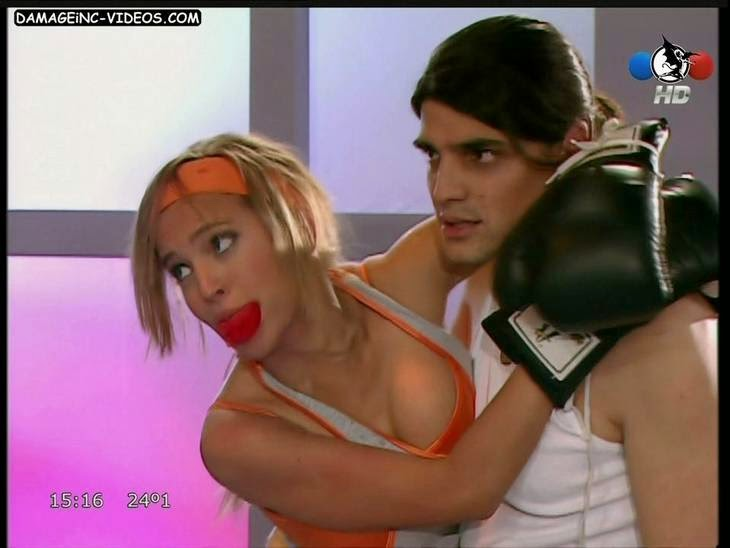 Luisana Lopilato hot cleavage HD video
