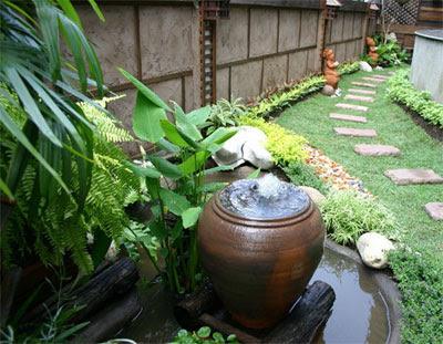 การจัดสวนหย่อม Small Home Garden