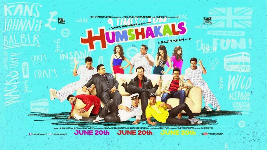 Poster,Saif Ali Khan Humshakals