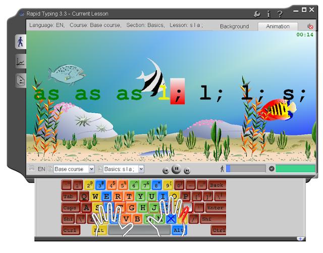تعلم الكتابة بسرعة دون النظر إلى لوحة المفاتيح