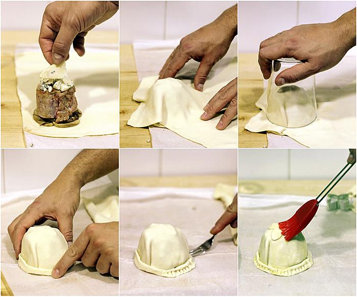 Solomillo ib rico en hojaldre con queso la peral receta Solomillo iberico al horno