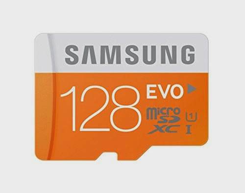 Samsung 128GB EVO Micro SDXC for Samsung Galaxy Note 4 & Note Edge