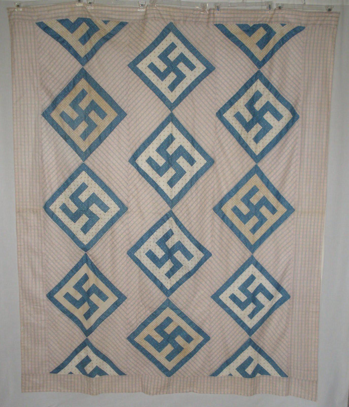Quilts Etc!: New (old) Top II - Swastika : swastika quilt - Adamdwight.com